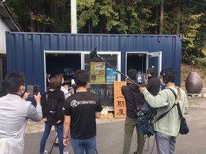撮影様子01|熊本県人吉市球磨郡米焼酎のトップブランド球磨焼酎酒造組合