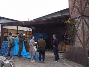 撮影様子02|熊本県人吉市球磨郡米焼酎のトップブランド球磨焼酎酒造組合