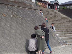 撮影様子04|熊本県人吉市球磨郡米焼酎のトップブランド球磨焼酎酒造組合